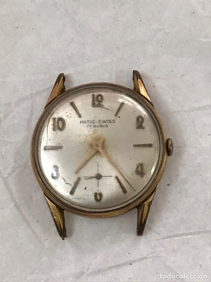 RELOJ PATIC SWISS CARGA MANUAL PARA PIEZAS 30 MM (Relojes - Recambios)