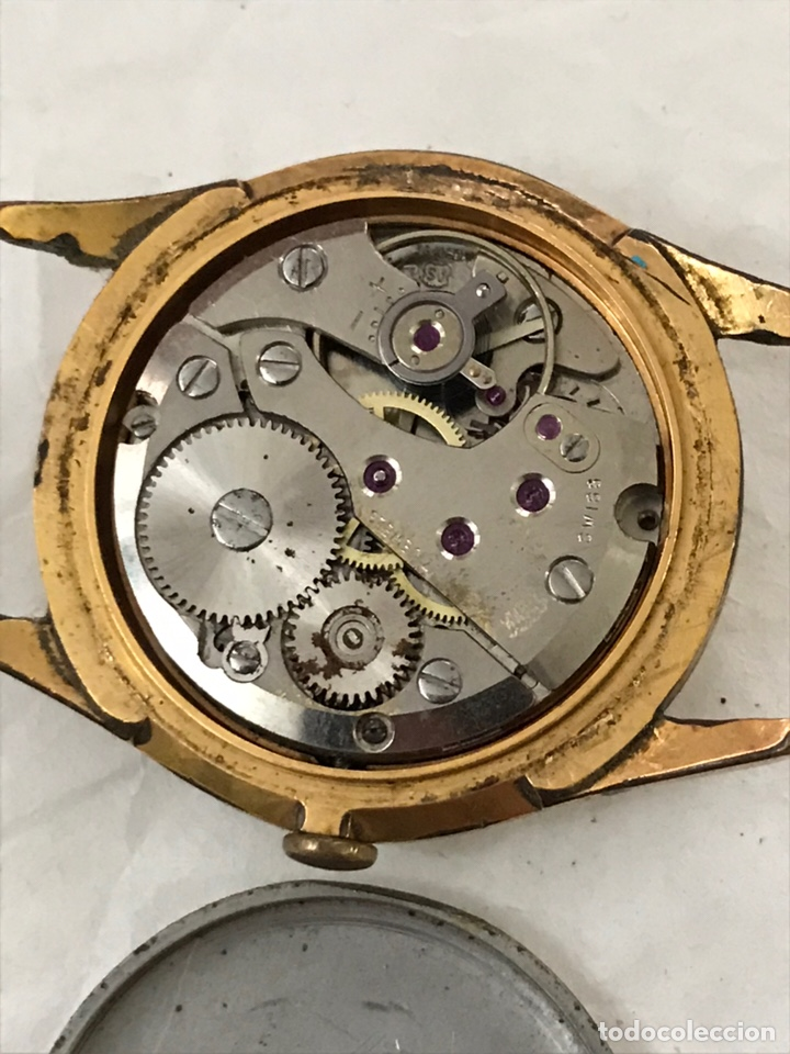 Recambios de relojes: Reloj PATIC SWISS carga manual para piezas 30 mm - Foto 5 - 171491365