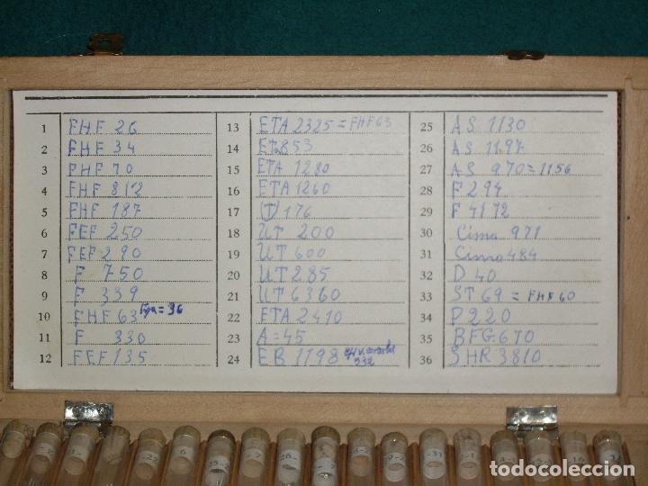 Recambios de relojes: RELOJERO - PIEZAS DE RECAMBIO - Foto 3 - 172230924