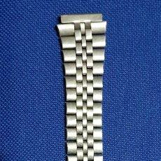 Recambios de relojes: BONITA CORREA - CADENA - ARMIS DE ACERO ORIGINAL DE RELOJ CASIO- ANTIGUA. Lote 172654622
