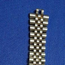 Recambios de relojes: BONITA CORREA - CADENA - ARMIS ACERO ANTIGUA. Lote 172655258