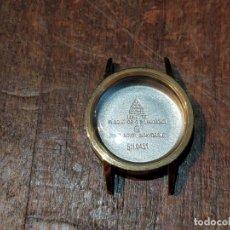 Recambios de relojes: CAJA OMEGA ORIGINAL, NUEVA, 511.0451 - CAL. 620/625 - PLAQUÉ ORO 20MICRAS. Lote 172749045