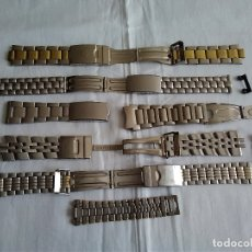 Recambios de relojes: 6-REPUESTOS PARA RELOJ, CORREAS. Lote 173062663