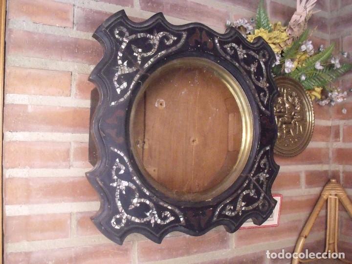 ¡¡GRAN OFERTA!! ANTIGUA CAJA DE RELOJ DE ESCUELA- AÑO 1880- FRONTAL NACAR LOTE 208 (Relojes - Recambios)