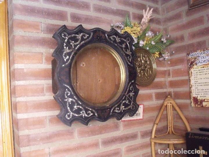 Recambios de relojes: ¡¡gran oferta!! ANTIGUA CAJA DE RELOJ DE ESCUELA- AÑO 1880- FRONTAL NACAR LOTE 208 - Foto 5 - 173095597