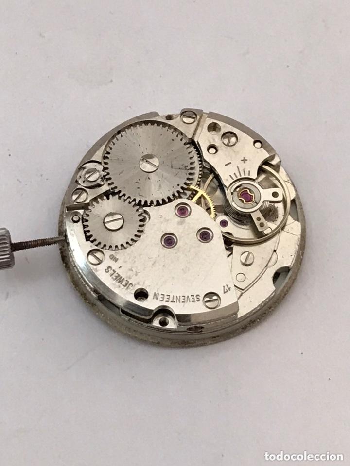 Recambios de relojes: Maquinaria reloj duward doble calendario carga manual - Foto 3 - 173447105