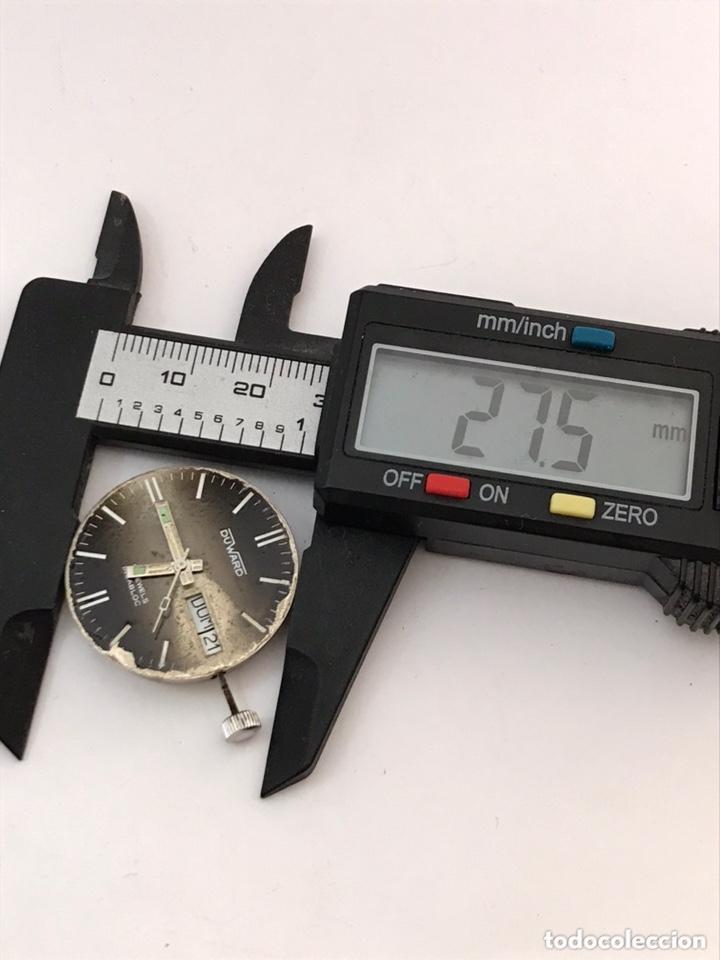 Recambios de relojes: Maquinaria reloj duward doble calendario carga manual - Foto 4 - 173447105