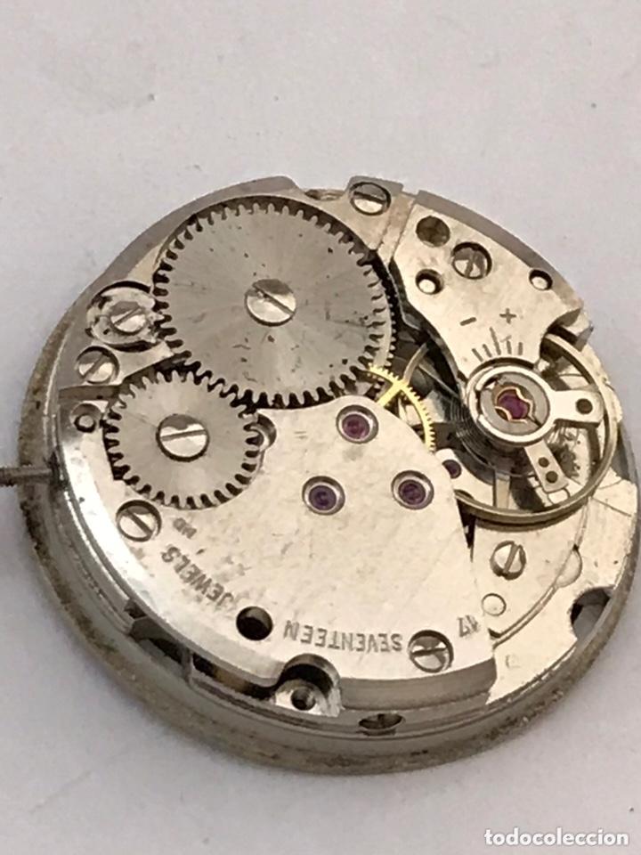 Recambios de relojes: Maquinaria reloj duward doble calendario carga manual - Foto 5 - 173447105