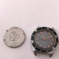 Recambios de relojes: RELOJ HALCÓN DIVER CARGA MANUAL 25 MM VINTAGE. Lote 173575049