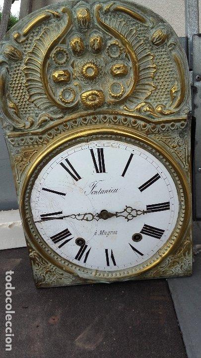 CABEZA CON MECANISMO DE RELOJ MOREZ, FUNCIONA (Relojes - Recambios)