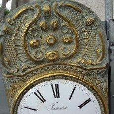 Recambios de relojes: CABEZA CON MECANISMO DE RELOJ MOREZ, FUNCIONA. Lote 173582892