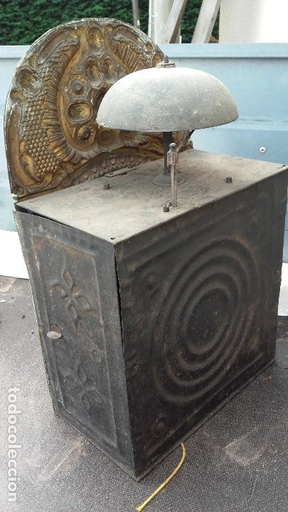 Recambios de relojes: Cabeza con mecanismo de reloj Morez, funciona - Foto 3 - 173582892