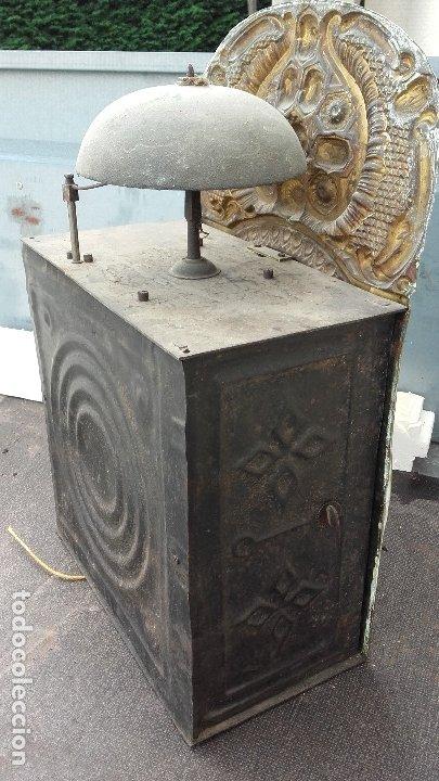 Recambios de relojes: Cabeza con mecanismo de reloj Morez, funciona - Foto 4 - 173582892