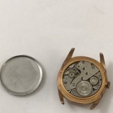 Recambios de relojes: RELOJ CARGA MANUAL H MATY DE LUXE NO FUNCIONA. Lote 173600110