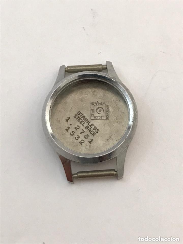 CAJA CASE RELOJ CYMA 22,5 MM SIN USAR (Relojes - Recambios)