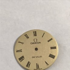 Recambios de relojes: ESFERA OMEGA DE VILLE SIN USAR. Lote 173673889