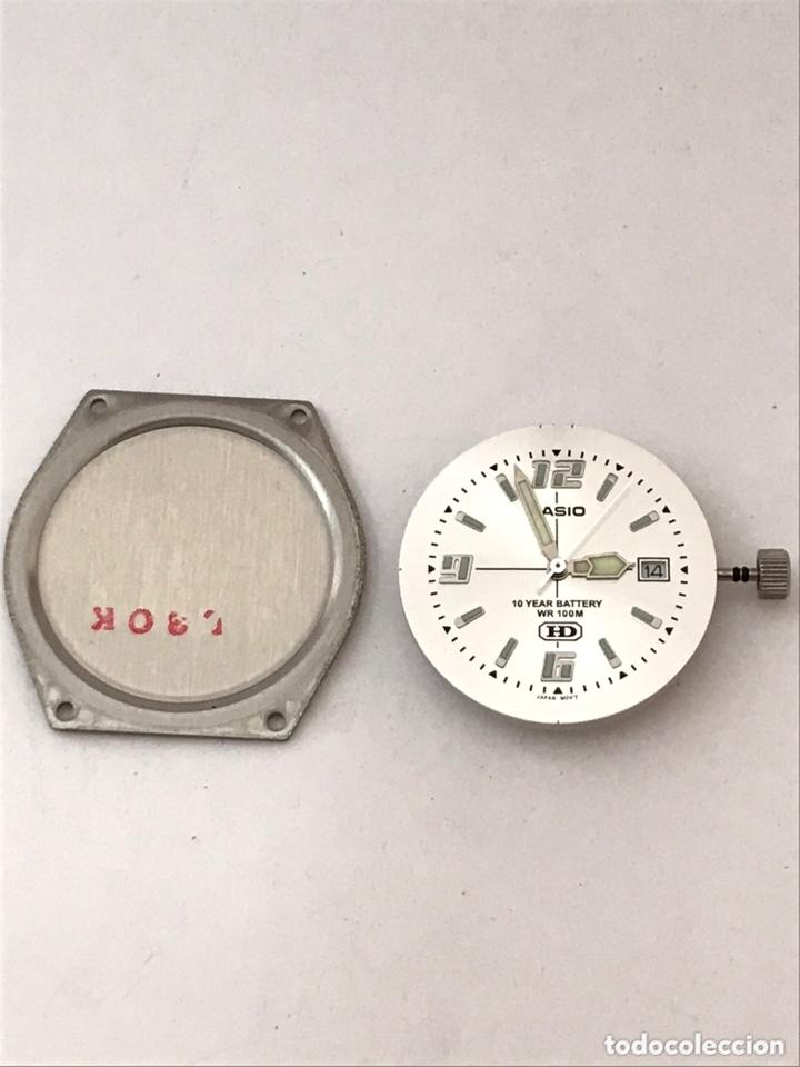 Recambios de relojes: Maquinaria y tapa trasera CASIO MW-600 mod : 2719 HD como nuevo - Foto 2 - 173787052