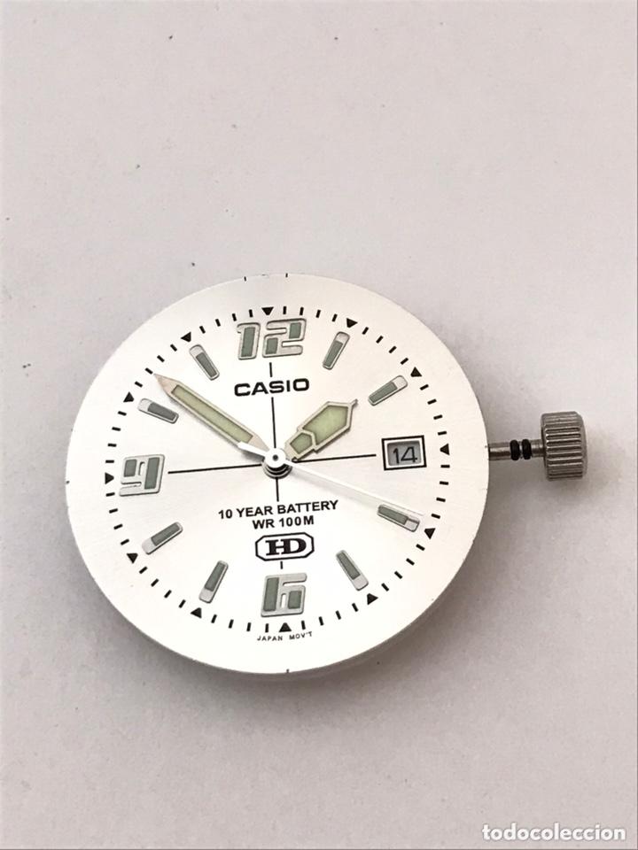 Recambios de relojes: Maquinaria y tapa trasera CASIO MW-600 mod : 2719 HD como nuevo - Foto 3 - 173787052