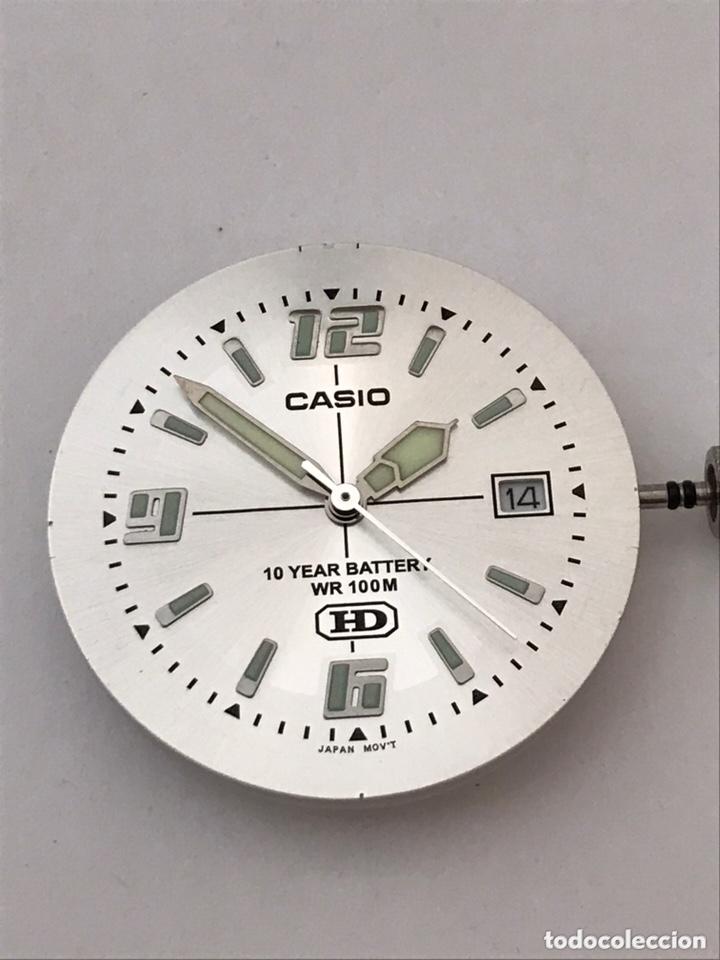 Recambios de relojes: Maquinaria y tapa trasera CASIO MW-600 mod : 2719 HD como nuevo - Foto 4 - 173787052