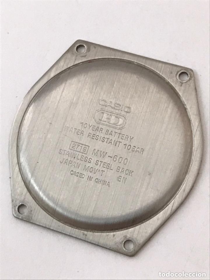 Recambios de relojes: Maquinaria y tapa trasera CASIO MW-600 mod : 2719 HD como nuevo - Foto 7 - 173787052