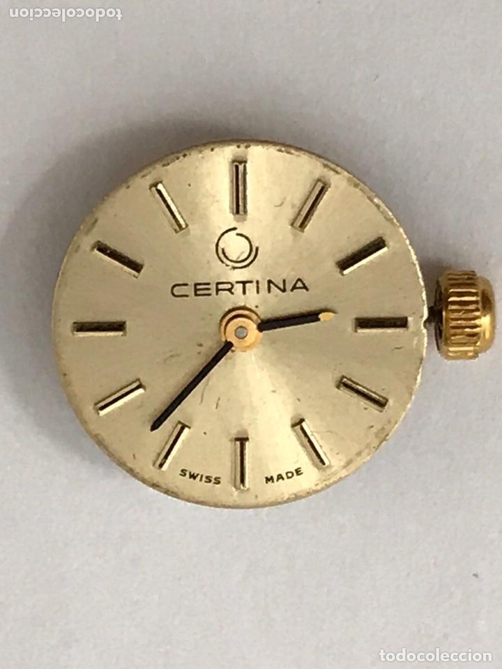 Recambios de relojes: Maquinaria reloj CERTINA C.E.026 carga manual - Foto 2 - 173814070
