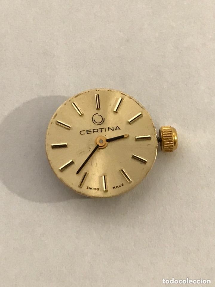 Recambios de relojes: Maquinaria reloj CERTINA C.E.026 carga manual - Foto 3 - 173814070