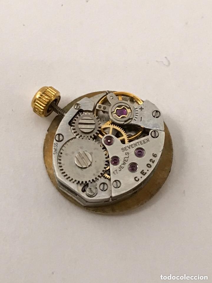 Recambios de relojes: Maquinaria reloj CERTINA C.E.026 carga manual - Foto 4 - 173814070