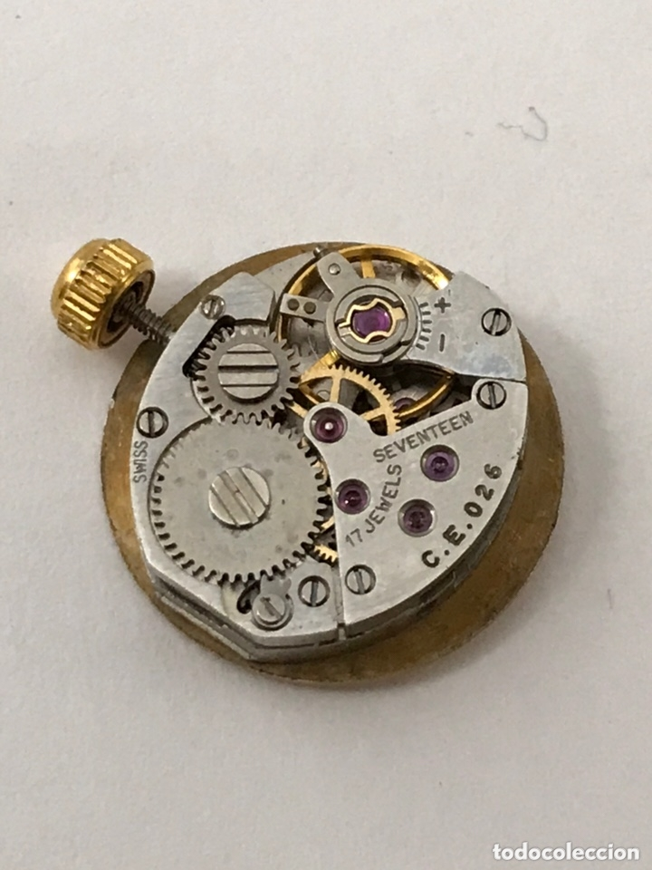 Recambios de relojes: Maquinaria reloj CERTINA C.E.026 carga manual - Foto 7 - 173814070
