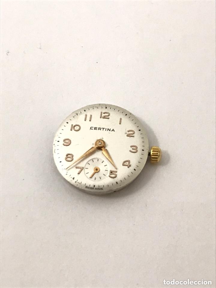 Recambios de relojes: Maquinaria reloj CERTIINA 19-10 carga manual - Foto 2 - 173815015