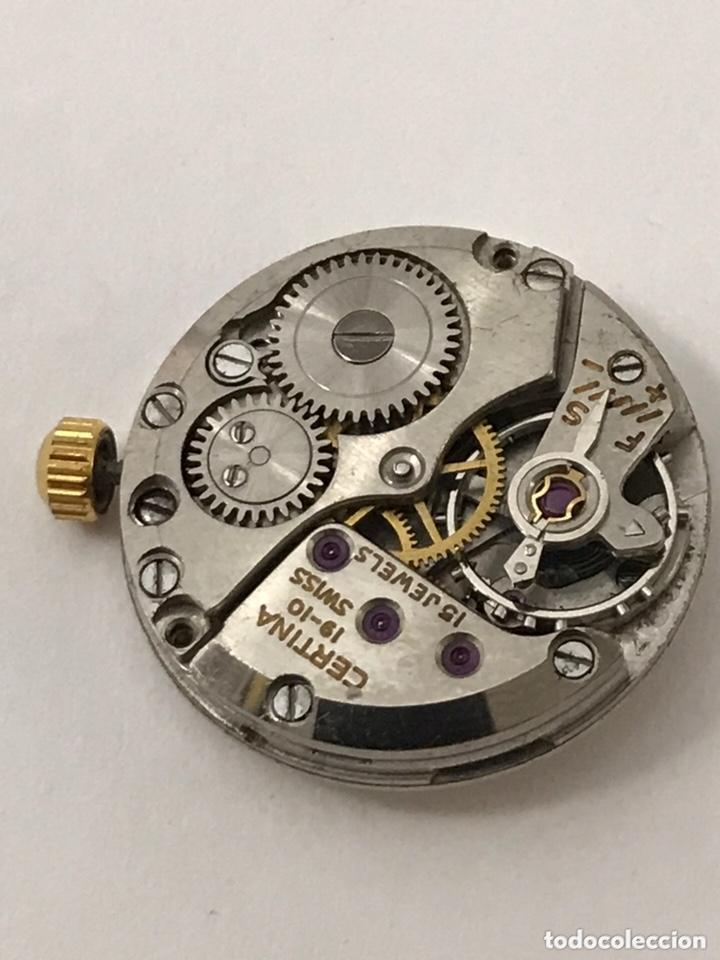 Recambios de relojes: Maquinaria reloj CERTIINA 19-10 carga manual - Foto 3 - 173815015