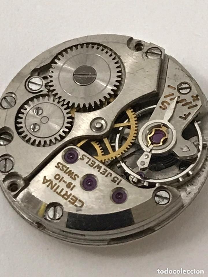 Recambios de relojes: Maquinaria reloj CERTIINA 19-10 carga manual - Foto 4 - 173815015