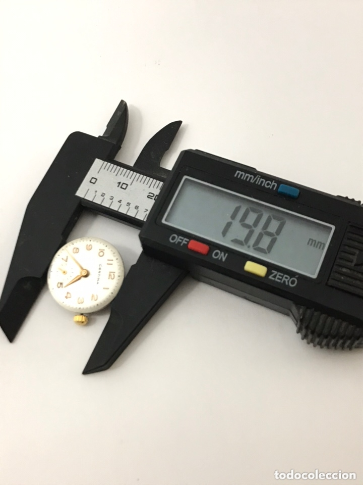 Recambios de relojes: Maquinaria reloj CERTIINA 19-10 carga manual - Foto 5 - 173815015