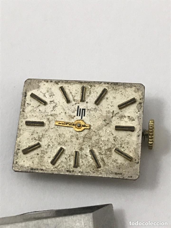 Recambios de relojes: Maquinaria reloj LIP piezas - Foto 2 - 173819313