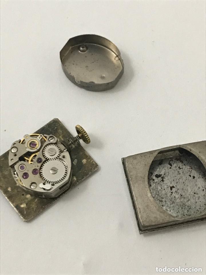 Recambios de relojes: Maquinaria reloj LIP piezas - Foto 3 - 173819313