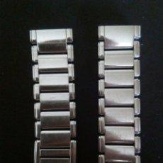 Recambios de relojes: BRZALETE/ARMIS PARA RELOJES HAMILTON ACERO 1º CALIDAD. Lote 173856560