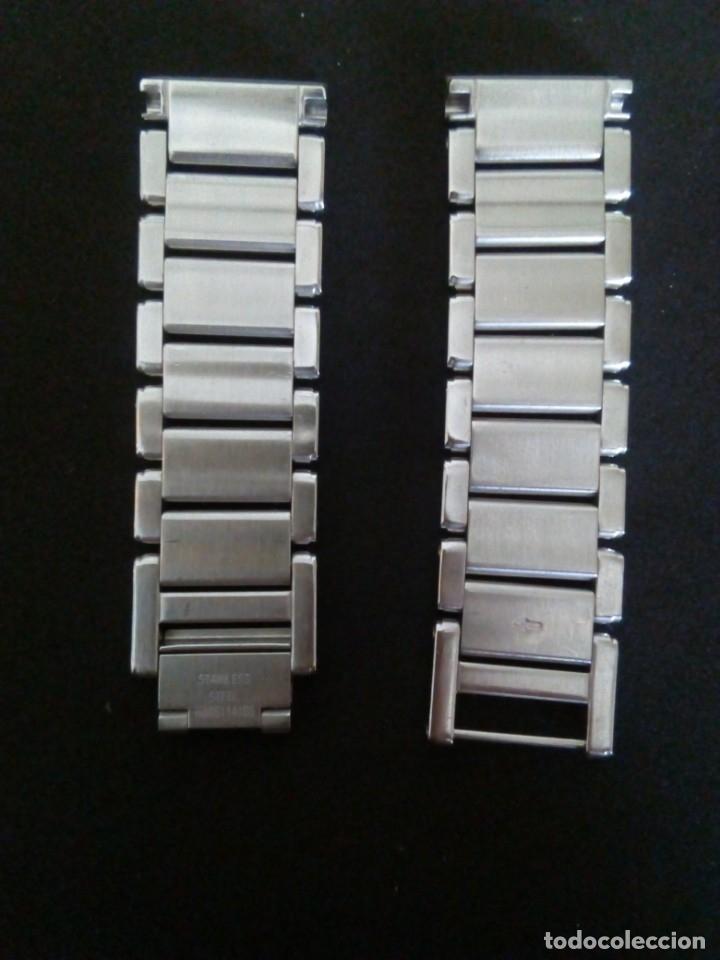 Recambios de relojes: brzalete/armis para relojes HAMILTON acero 1º calidad - Foto 3 - 173856560