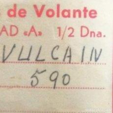 Recambios de relojes: VULCAIN 590 2 EJES DE VOLANTE. Lote 173901335
