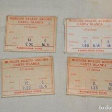 Recambios de relojes: LOTE DE MUELLES / RESORTES ANTIGUOS RELOJES - FORNITURAS - SWISS MADE - ¡HAZ UNA OFERTA! - LOTE22. Lote 174041162