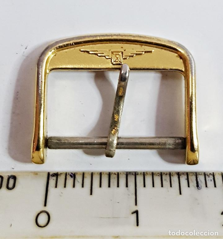 Recambios de relojes: Hebilla de reloj LONGINES de 16mm. - Foto 3 - 174096379