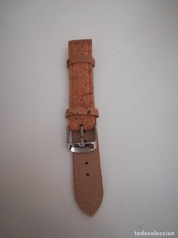 Recambios de relojes: CORREA RELOJ CABALLERO DE CORCHO. 22 MM - Foto 2 - 174589144