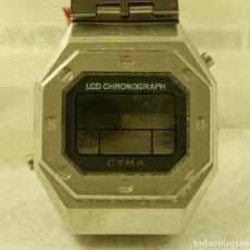 Recambios de relojes: RARO CYMA CAJA + ARMYS DIGITAL LCD CON PEGATINAS. Lote 174602328