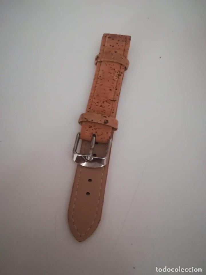Recambios de relojes: CORREA RELOJ CABALLERO DE CORCHO. 18 MM - Foto 3 - 174882189