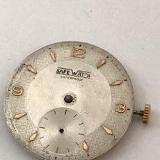 Recambios de relojes: MAQUINARIA MOVIMIENTO RELOJ SAFEWATCH CALIBRE AS 1560 LEER. Lote 175136073