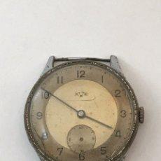 Recambios de relojes: RELOJ MECÁNICO AVE MILITAR 1951 CARGA MANUAL 37,5 ( NO FUNCIONA ). Lote 175563192