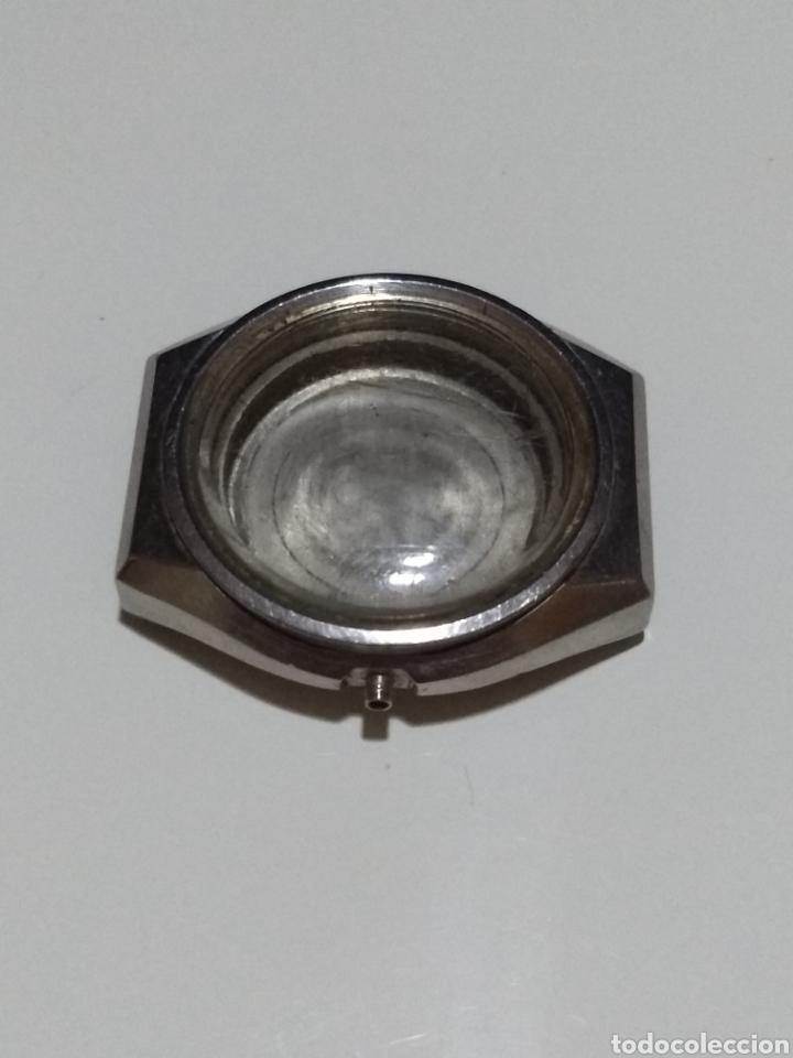 Recambios de relojes: Caja Reloj Orient acero 05207A188 Medida 37mm - Foto 2 - 175716705