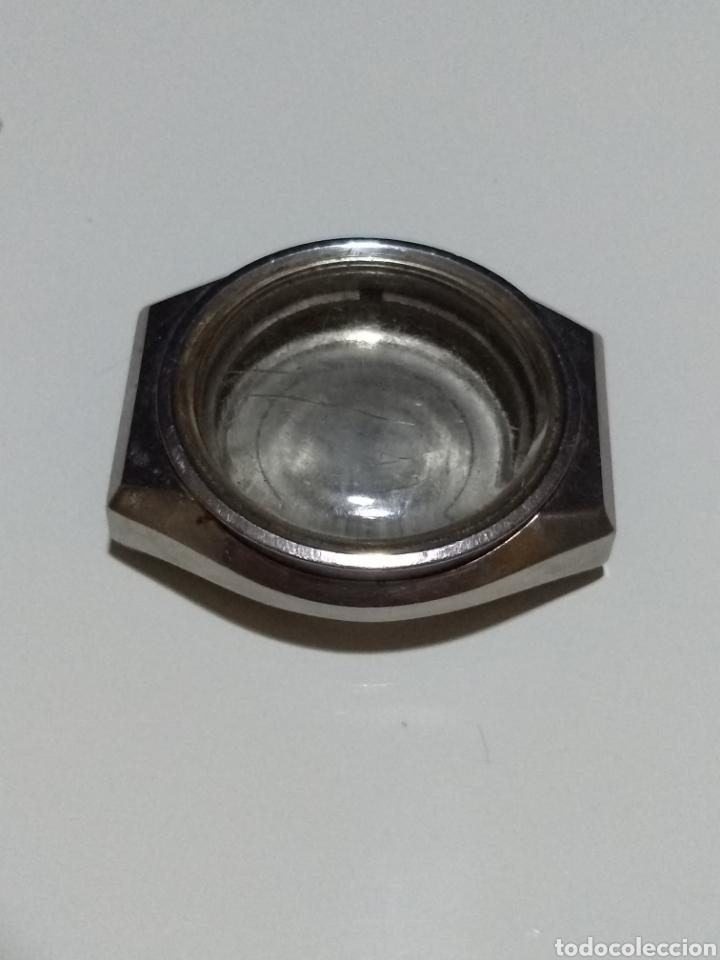Recambios de relojes: Caja Reloj Orient acero 05207A188 Medida 37mm - Foto 3 - 175716705