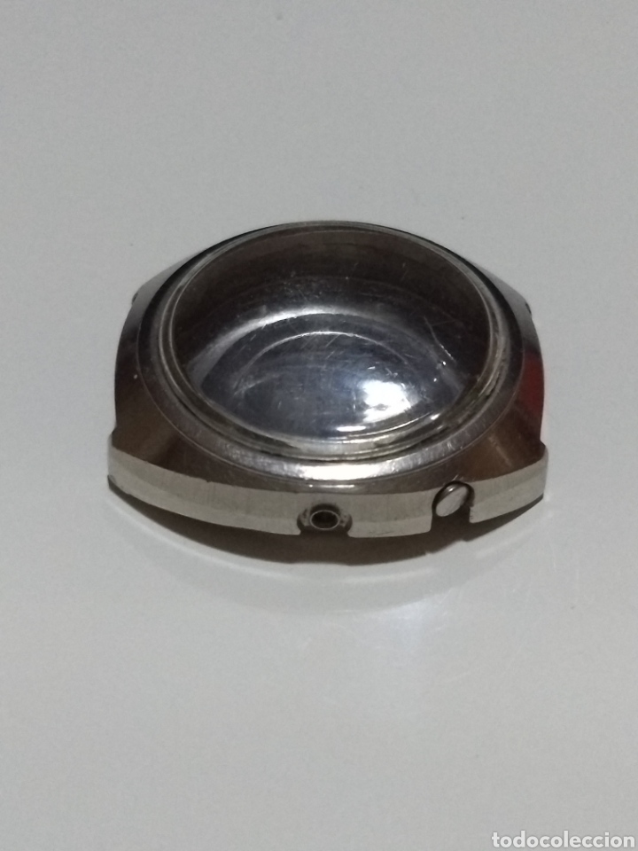 Recambios de relojes: Caja Reloj Orient acero 10935832 Medida 37mm - Foto 2 - 175718317