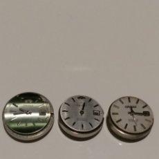 Recambios de relojes: 3 MAQUINAS PARA DESPIECE ORIENT 49740. Lote 175732002