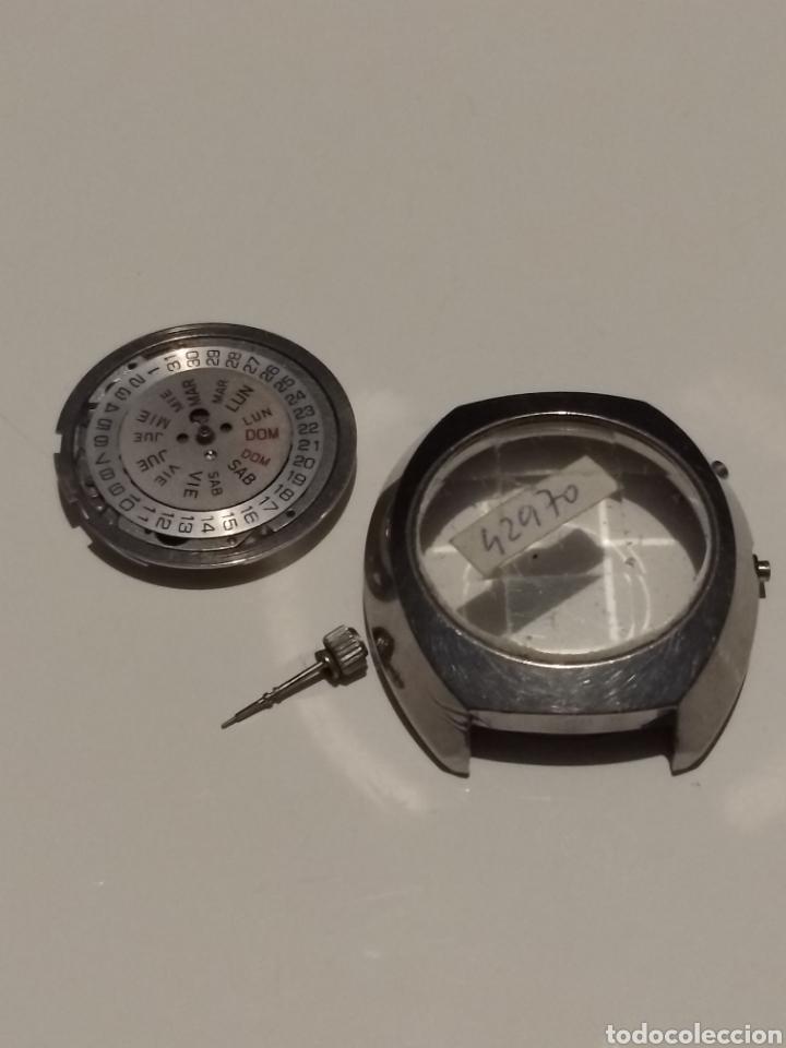 CAJA Y MÁQUINA ORIENT 42970 (Relojes - Recambios)