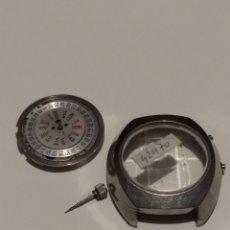 Recambios de relojes: CAJA Y MÁQUINA ORIENT 42970. Lote 175732275